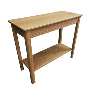 Anbercraft Beaumont Sofa End Table with Wood Top