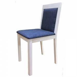 Anbercraft Darwin Chair with Padded Back in painted finish