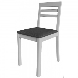 Anbercraft Darwin Chair with Slatted Back in painted finish