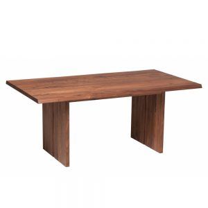 Minnesota Table Solid Block Leg E Walnut