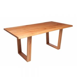 Minnesota Table Trapeze-Shaped Leg G Oak