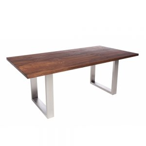 Minnesota Table U-Shaped Leg A Walnut