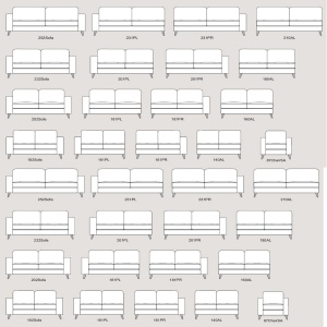 Theodore Sofa Collection range guide