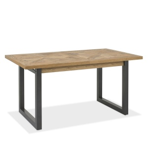 Ravi Rustic Oak 4-6 Seater Dining Table