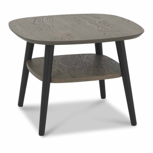 Vincent Lamp Table with Shelf