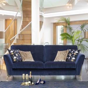 Anderton Grand Sofa in blue