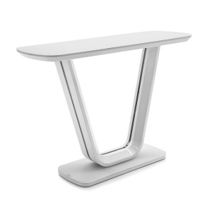 Lorenzo Console Table in white