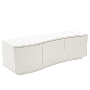 Lorenzo TV Unit in white